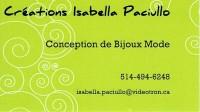Créations Isabella Paciullo